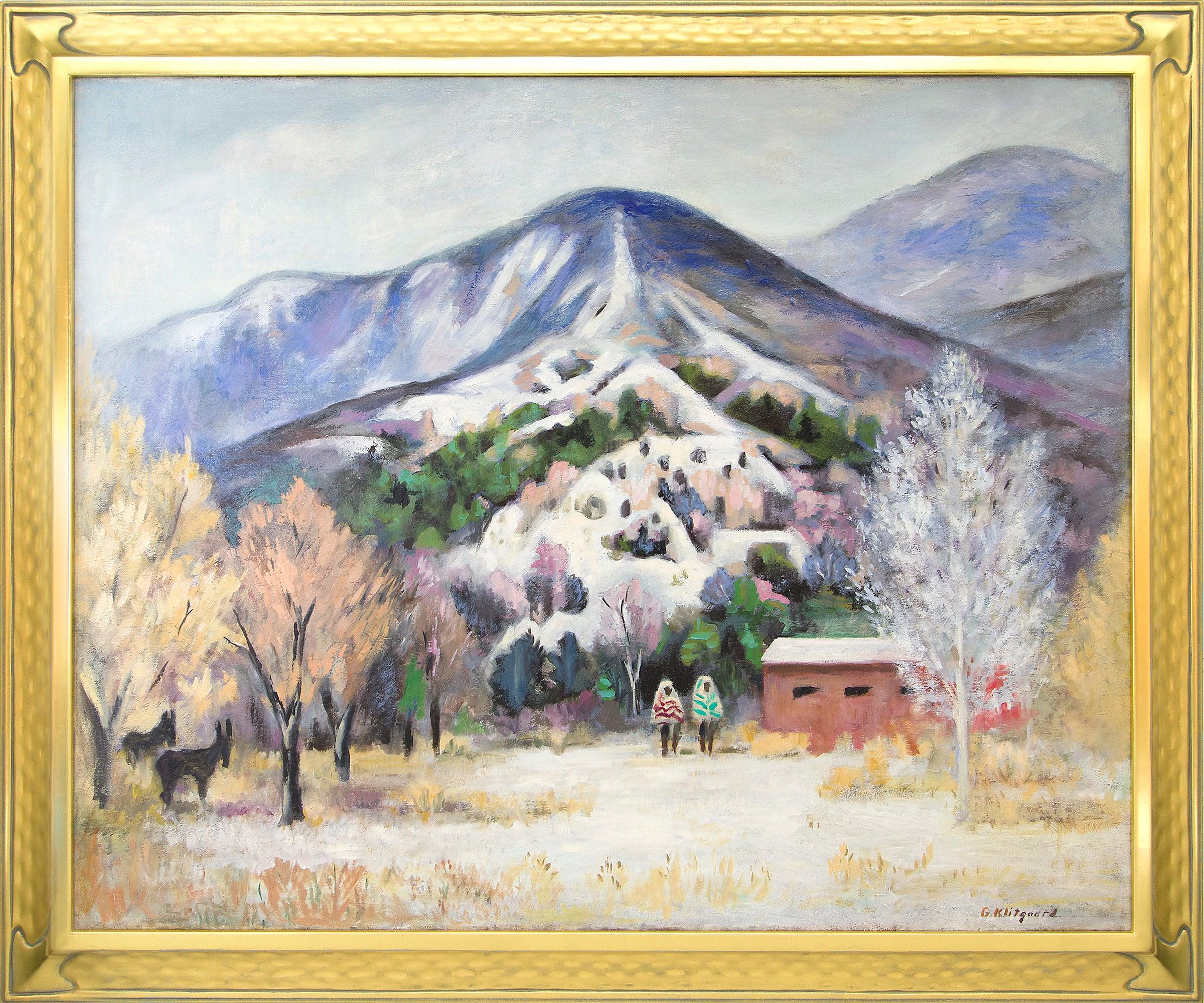 Sangre de Cristo Scene (Southern Colorado Mountain Landscape with Snow)