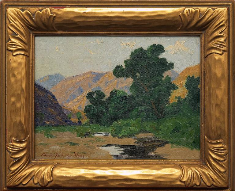 Charles Partridge Adams Landscape Painting - Untitled (California landscape)