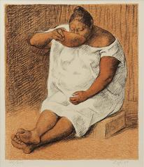 Untitled (Woman Drinking Water) 196/250