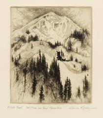 Old Mine on Red Mountain (Colorado); artist proof; edition of 50