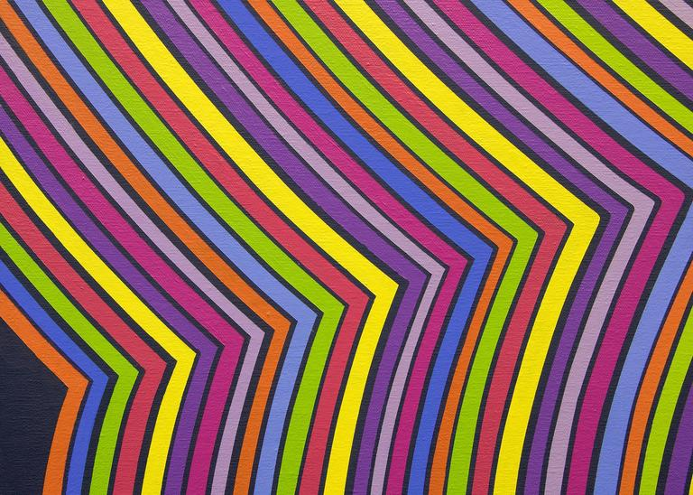 Stripes in Motion For Sale 1