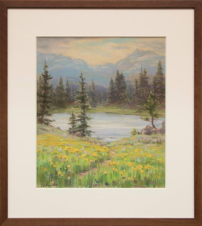 Untitled (Lake and Mountains, Near Estes Park, Colorado)