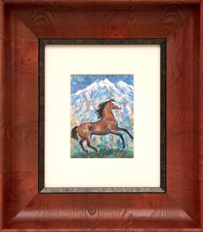 Untitled (Horse and Mountain)