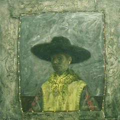 Self Portrait with Black Hat