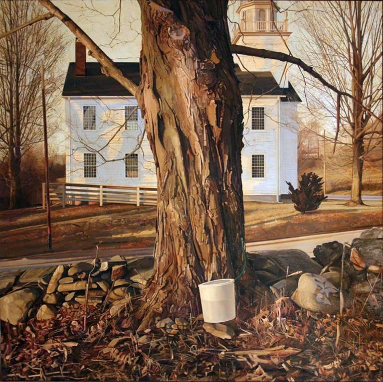 Trey Friedman Landscape Painting - Service