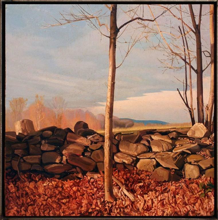 Trey Friedman Landscape Painting - Trees On A Line #23