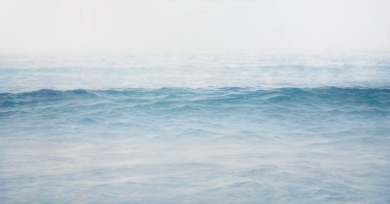 Chris Armstrong Landscape Painting - Squall (Inuit)