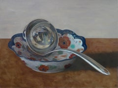 Ladle in Floral Bowl