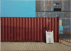 Container at Hoboken Path Station