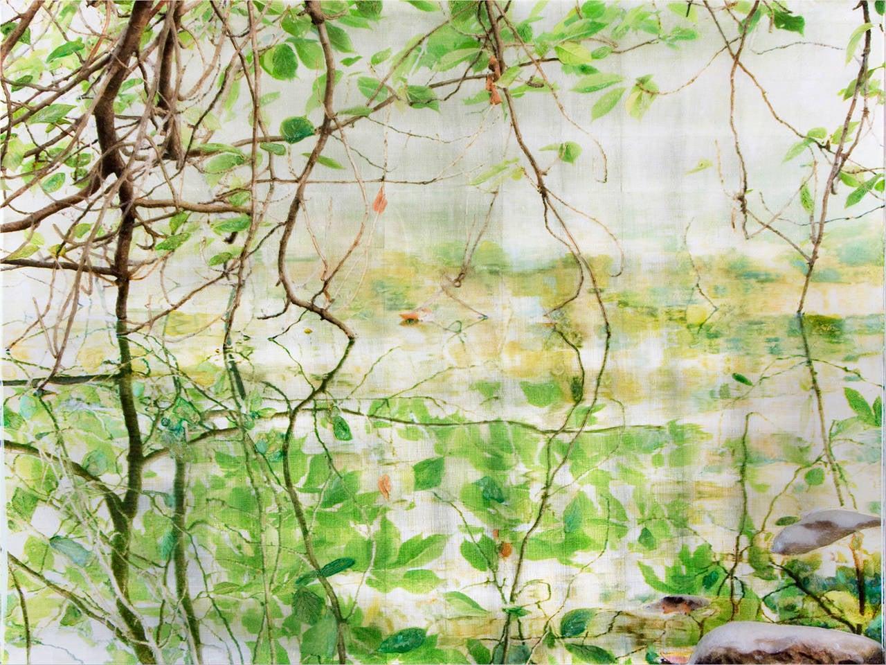 Susan Goldsmith Landscape Painting - The Ramble Fissure