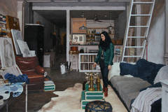 Jennifer In Her Studio