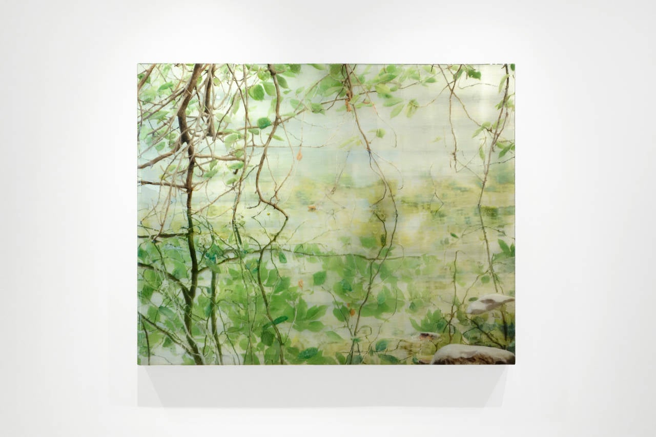 The Ramble Fissure - Contemporary Painting by Susan Goldsmith