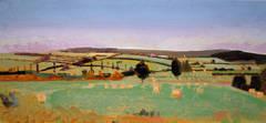 Field In Burgundy