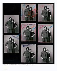 John & Yoko Proof Sheet