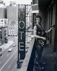 Dee Dee Ramone on the Balcony