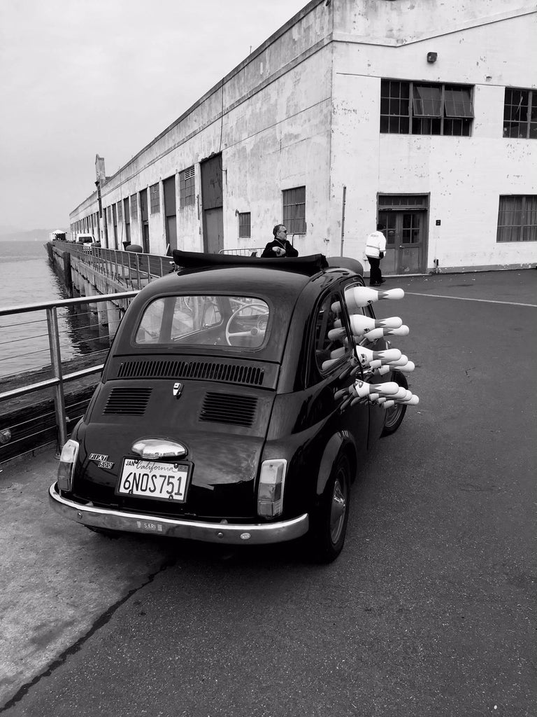 James Bacchi Black and White Photograph - #InTheSky Series: San Francisco #40