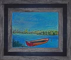 Boat on Lake Montauk