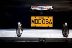 Plate #MDD054 - Cuba