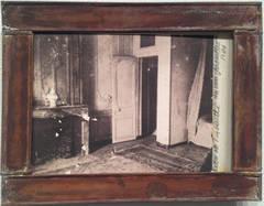 """Unrestored Bedroom of Madame de Pompadour, from """"Unseen Versailles"""", 1980"""