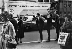 Dylan with Peter Yarrow and John Hammond Jr., New York