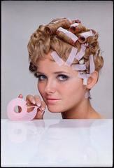 Cheryl Tiegs, Hair Tape, 3M, 1968