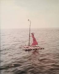 Raft: Lucinda Hollingsworth, off Westhampton Beach, Supima