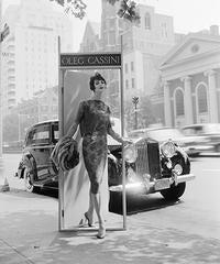 Ann St. Marie, Oleg Cassini, Park Avenue at 63rd Street, 1958