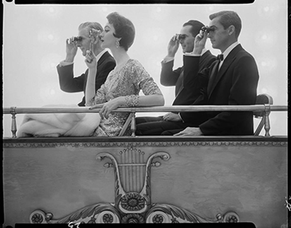William Helburn Dovima In Opera Box Corday Ca 1961