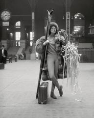 Ticker Tape: Linda Harper, Penn Station, 1958