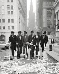Clean New York Campaign, Wall Street, 1960
