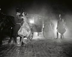 Stagecoach at Night, Harper's Bazaar