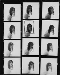 Jean Shrimpton, Contact Sheet
