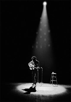 Bob Dylan Performing in Spotlight, Princeton, New Jersey