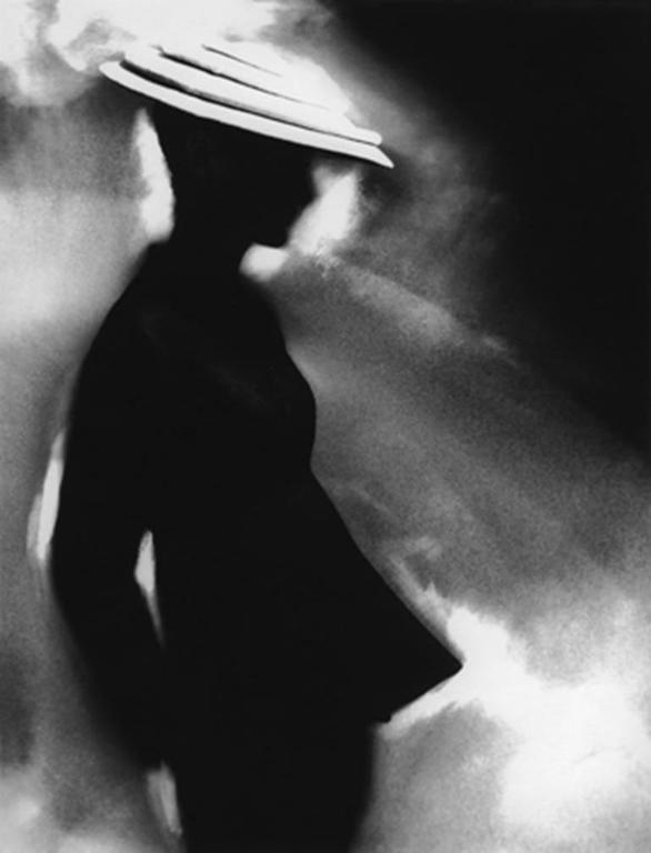 Lillian Bassman Black and White Photograph - Tunic Suit, Sunny Hartnett, Harper's Bazaar, New York