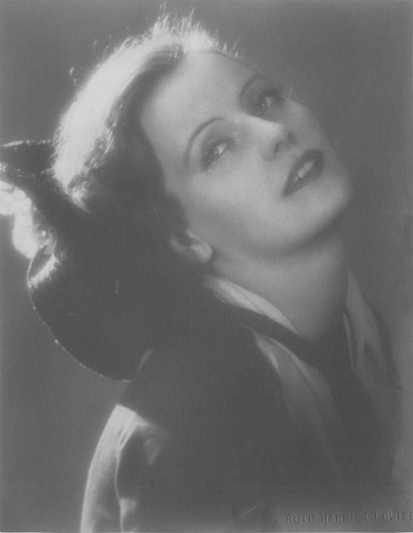 Ruth Harriet Louise Portrait Photograph - Greta Garbo, The Torrent