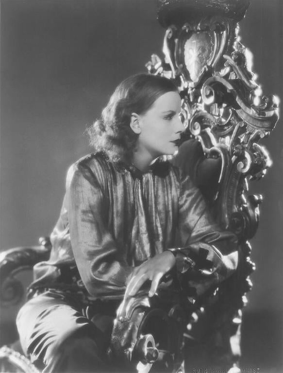 Ruth Harriet Louise Portrait Photograph - Greta Garbo, The Single Standard