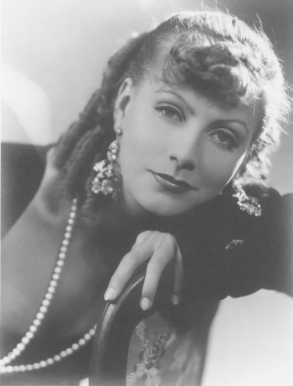 george hurrell greta garbo romance 1930 photograph