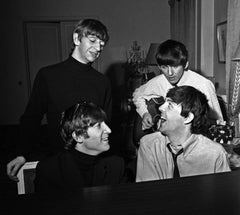 The Beatles Composing, Paris, 1964