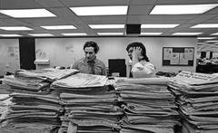 Woodward and Bernstein, Washington Post, 1973