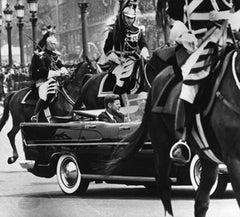 President Kennedy and De Gaulle, Paris, 1961