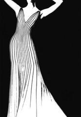 Thierry Mugler Dress, German VOGUE, 1998