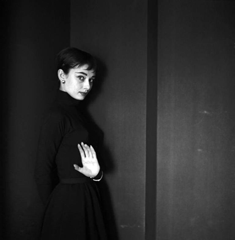Cecil Beaton Black and White Photograph - Audrey Hepburn