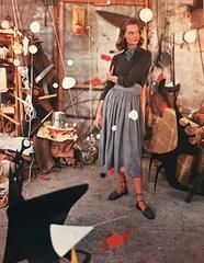 Genevieve Naylor - Model in Alexander Calder's Studio