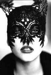 Mask: Nadja Auermann, VOGUE UK, Paris