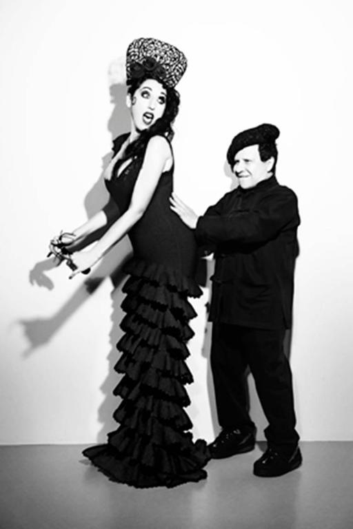 Rossy de Palma and Azzedine Alaïa for Yo Dona Magazine
