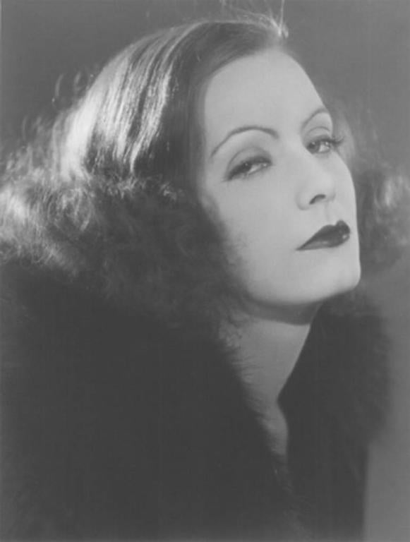 "Ruth Harriet Louise Black and White Photograph - Greta Garbo in ""The Mysterious Lady"""