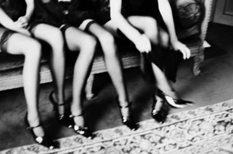 Ellen von Unwerth - Karen, Nina, Danny, and Anne, New York 1