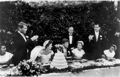 The wedding of John F. Kennedy and Jacqueline Bouvier, Newport, Rhode Island