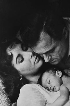 Elizabeth Taylor, Mike Todd, and their daughter Liza, LIFE Magazine