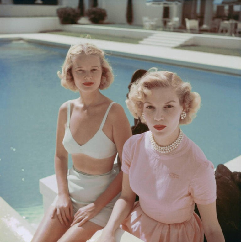 Slim Aarons Color Photograph - Connelly And Guest